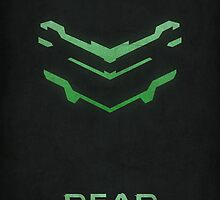 Dead Space Minimalist Video Game Helmet by dylanwest2010