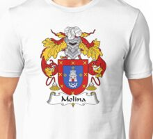 Molina Coat of Arms/Family Crest Unisex T-Shirt
