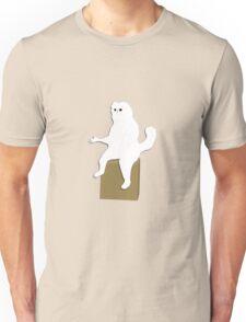 Cartoon Persian Cat Room Guardian Meme  Unisex T-Shirt
