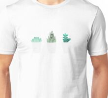 The Three Succulents  Unisex T-Shirt