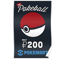 Pokemon Pokeball Pokemart Ad Poster