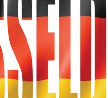 Dusseldorf. Sticker