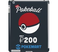 Pokemon Pokeball Pokemart Ad iPad Case/Skin