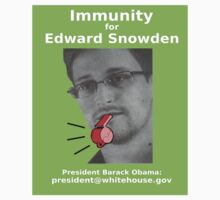 Immunity for Edward Snowden by Rhona Mahony