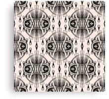 Patterns modern backgrounds Art Deco Canvas Print
