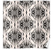 Patterns modern backgrounds Art Deco Poster