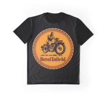 Royal Enfield vintage British Motorcycles Graphic T-Shirt