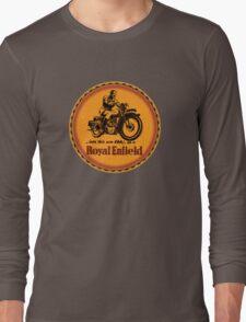 Royal Enfield vintage British Motorcycles Long Sleeve T-Shirt