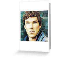 Benedict Cumberbatch Design 5 Greeting Card