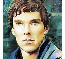 Benedict Cumberbatch Design 5 Photographic Print