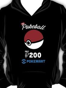 Pokemon Pokeball Pokemart Ad T-Shirt