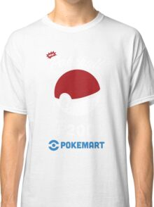 Pokemon Pokeball Pokemart Ad Classic T-Shirt