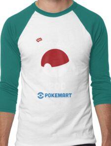 Pokemon Pokeball Pokemart Ad Men's Baseball ¾ T-Shirt