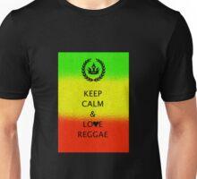 Keep Calm & Love Reggae Unisex T-Shirt