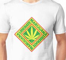 Liberate Marijuana Unisex T-Shirt
