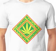Liberate Marijuana Unisex T-Shirt