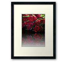Bouquet of Swetheart Roses Framed Print