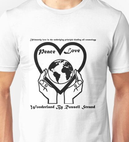 Wonderland By Russell Strand (Logo) Unisex T-Shirt