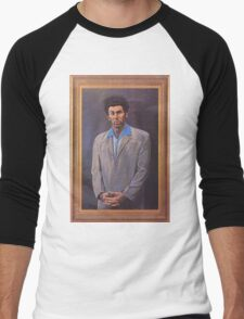Cosmo Kramer's Portrait Men's Baseball ¾ T-Shirt