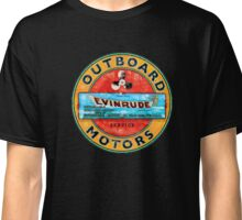 Evinrude vintage outboard motors USA Classic T-Shirt