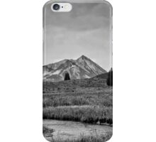 Ruby Range in Black and White #2 iPhone Case/Skin