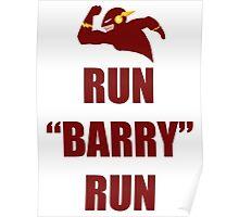 Run Barry Run Poster