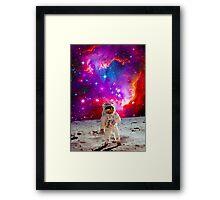 Moon Man Framed Print