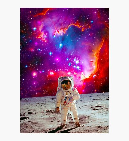 Moon Man Photographic Print