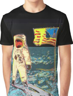 Moon Walk - Andy Warhol Graphic T-Shirt