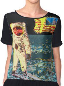 Moon Walk - Andy Warhol Chiffon Top