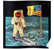 Moon Walk - Andy Warhol Poster