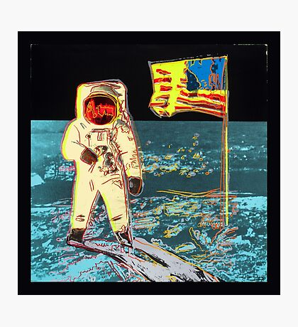 Moon Walk - Andy Warhol Photographic Print