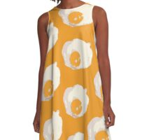 Fried Egg A-Line Dress