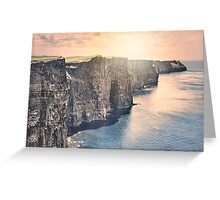 A Hymn To The Cliffs Greeting Card