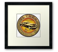 Tucker Sales and Service sign Framed Print
