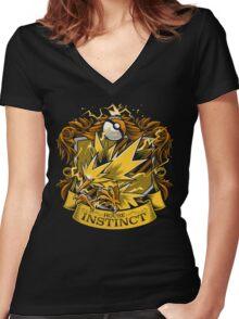 House Instinct - Team Instinct Women's Fitted V-Neck T-Shirt