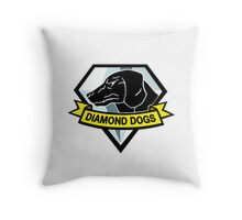Metal Gear Solid V - Diamond Dogs Throw Pillow