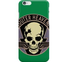 Metal Gear Solid V - Outer Heaven (Black) iPhone Case/Skin