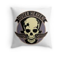 Metal Gear Solid V - Outer Heaven (Black) Throw Pillow