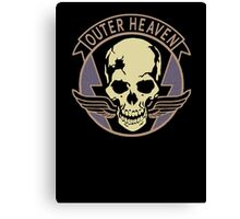 Metal Gear Solid V - Outer Heaven (Black) Canvas Print