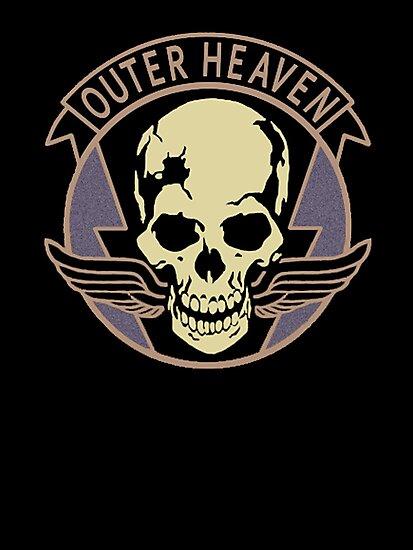 Metal Gear Solid V - Outer Heaven (Black) by arunsundibob