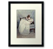 Sleeping Through the Dull Fete Framed Print