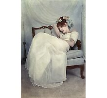 Sleeping Through the Dull Fete Photographic Print
