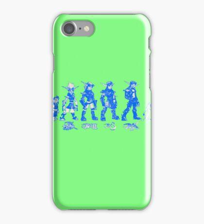 Jak and Daxter Saga - Blue Sketch iPhone Case/Skin
