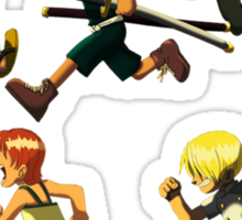 Young Strawhats  Sticker