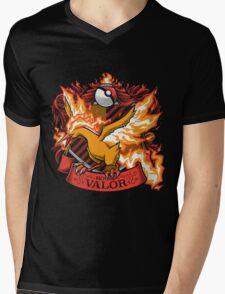 HOUSE VALOR - TEAM VALOR Mens V-Neck T-Shirt