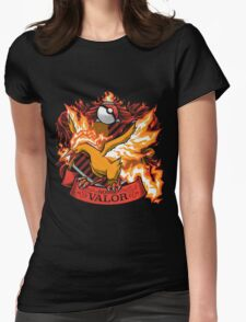 HOUSE VALOR - TEAM VALOR Womens Fitted T-Shirt