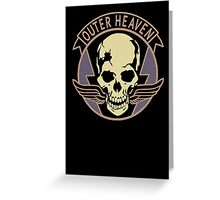 Metal Gear Solid V - Outer Heaven Greeting Card