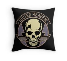 Metal Gear Solid V - Outer Heaven Throw Pillow