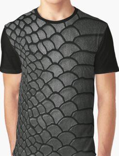 Faux Leather Crocodile Texture  Graphic T-Shirt